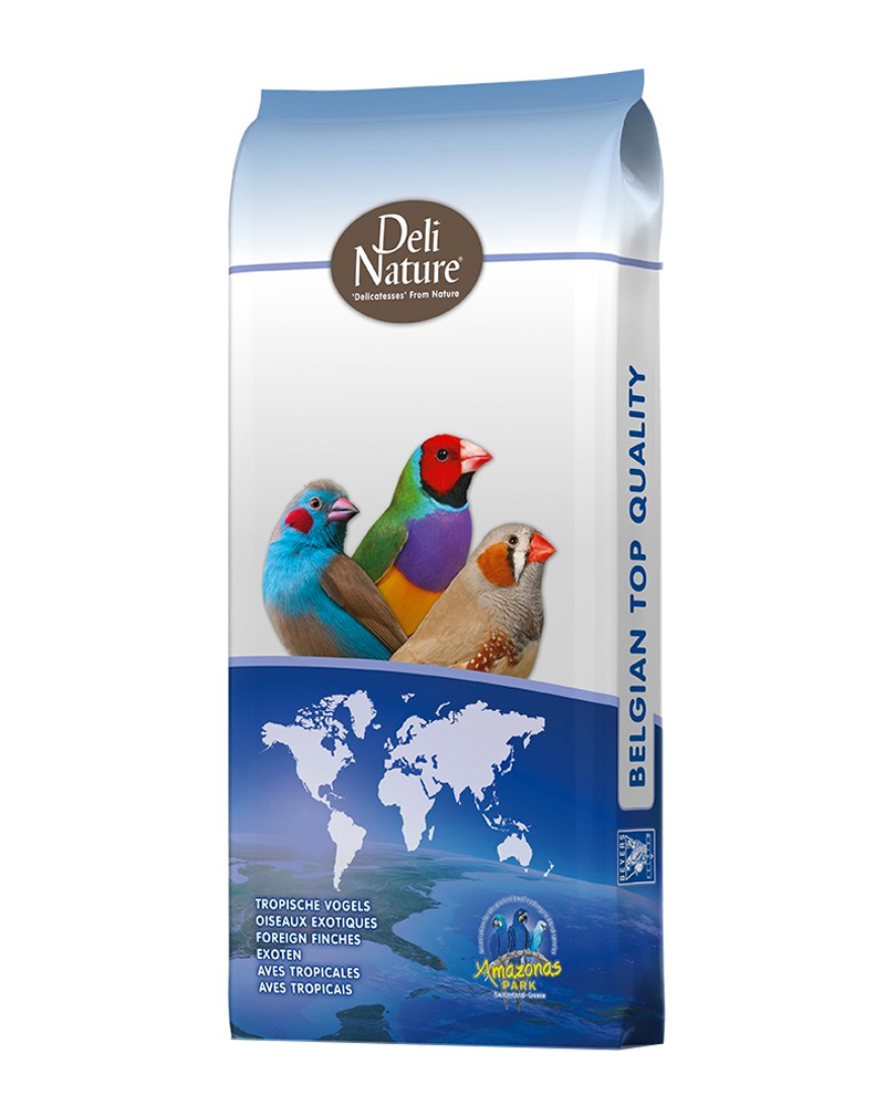(Pre-Order Products) Deli Nature Tropical bird supeer mix / Thailand  tropical bird premium( 20 kg)