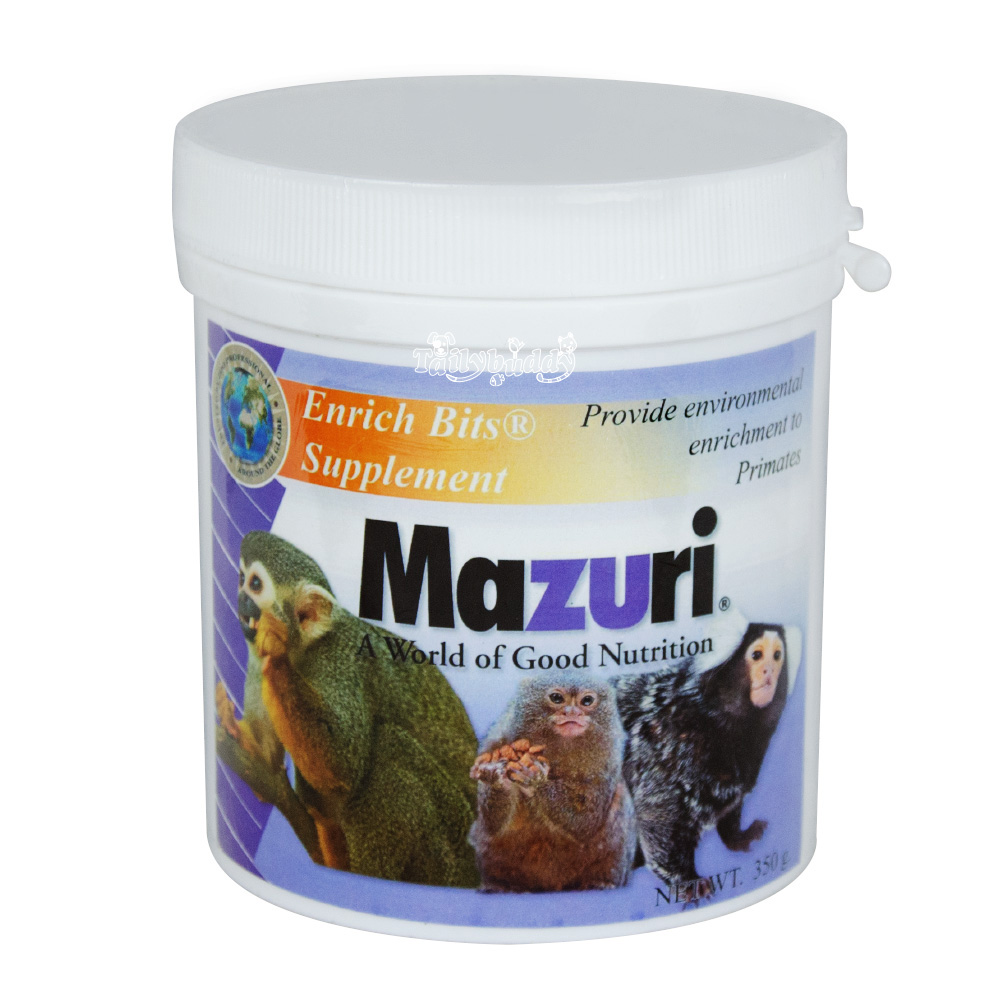 Mazuri Enrich Bits Supplement For Primates And Other Mammads Nutribird A21 3kg